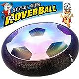 Air Hover Ball -AMAZON Niños Aire Fútbol Tamaño 4 Fútbol Niños Niñas Deportes Niños Juguetes Formación Fútbol Fútbol Interior Disco Hover Juego de Pelota con Parachoques de Espuma y Luces de Luz