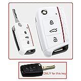 Tuqiang, custodia per chiave per VW Golf 7, GTI Rline, Volkswagen, Golf VII, prodotto premium