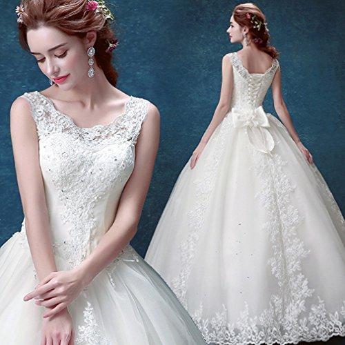 QP Belle Brautkleid Hochzeitskleid aus Spitze Brautkleid Hochzeitskleid, UNE, (Griechischen Kostüme Bühne)