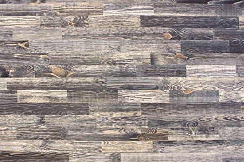wodewa Holz Wandverkleidung Vintage Optik 1m² Nachhaltige Echtholz Wandpaneele Moderne Wanddekoration Holzverkleidung Holzwand Wohnzimmer Küche Schlafzimmer V006