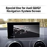 LFOTPP Audi Q2 Q7 8,3 Pouces Navigation Verre Trempé - Dureté 9H Film Protection GPS Nav Écran Protecteur Vitre