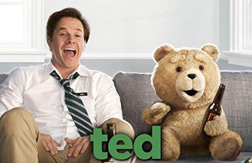 TED als sprechende Plüschfigur zum mega Film-Hit, englischsprachige Version