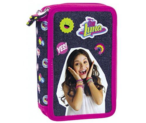 DISNEY soy luna 43 x TEILE 3-FÄCHER + Sticker von Kids4shop FEDERTASCHE FEDERMAPPE Federmäppchen...