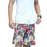 OULII Uomo Quick Dry Swim Trunks Beach Surf Pantaloncini Costumi da Bagno Costumi da Bagno Taglie Taglia L