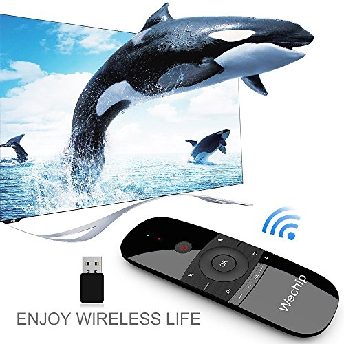 Wechip Mini Air Fly Mouse - TV Remote 2 4G Mention Sensing Air Fly