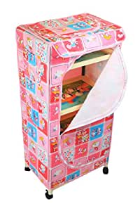 Natraj Children Toy Box (Pink)