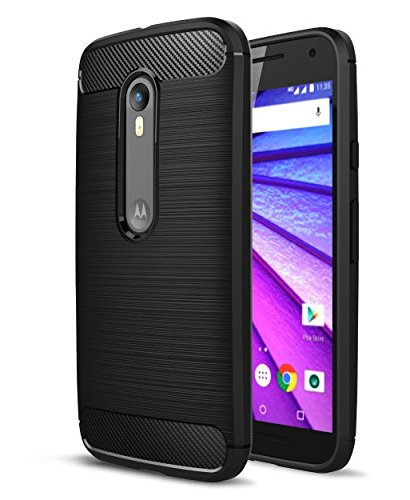 Kapa TPU Flexible Armor Shockproof Brushed Back Case Cover for...