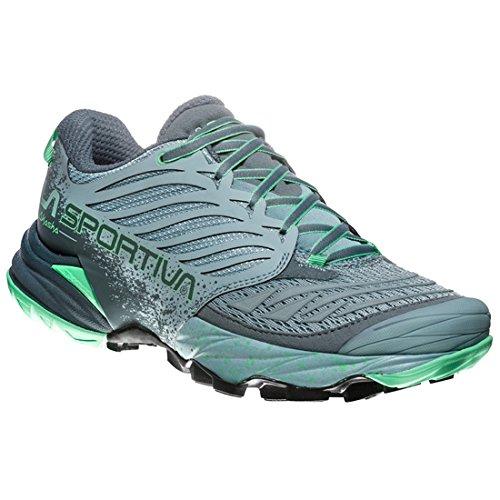 La Sportiva Akasha Woman, Zapatillas de Trail Running para Mujer, (Stone Blue/Jade...