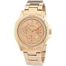 Guess W0235L3 - Reloj de pulsera para mujer, color blanco / plata