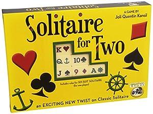 Solitaire for 2 - Juego de fichas (Egale Games FRD101322) (versión en inglés)