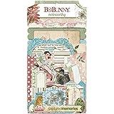 BoBunny Garden Journal Noteworthy Die Cut Scrapbook Embellishments by Bo Bunny -