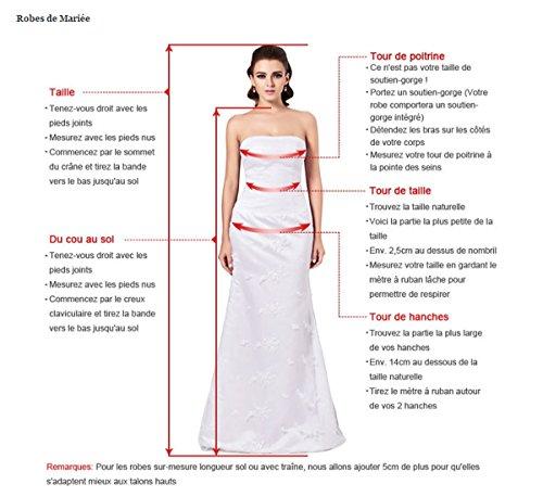 Robe de mariee ruban rose