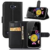 Supremery Wallet Case Hülle für LG K4 - Flip Tasche mit