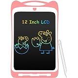 AGPTEK 12 Pulgadas Tablets de Escritura con Pantalla de Color LCD, Botón de Bloqueo, Portátil Tableta de Dibujo para Niños, C