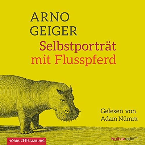 Buchseite und Rezensionen zu 'Selbstporträt mit Flusspferd' von Arno Geiger