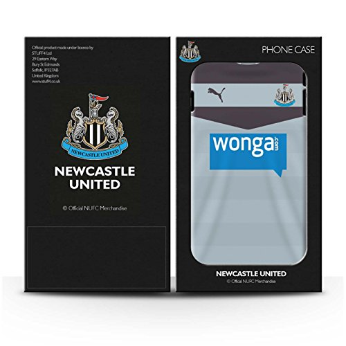 Offiziell Newcastle United FC Hülle / Glanz Snap-On Case für Apple iPhone 4/4S / Pack 29pcs Muster / NUFC Trikot Away 15/16 Kollektion Torwart