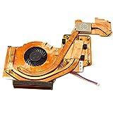 iParaAiluRy Laptop CPU-Lüfter für IBM Lenovo W500 T500 45N5492 45N5493 mit Heatsink