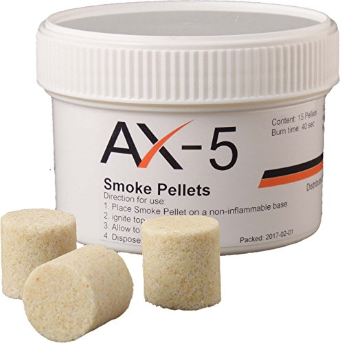 AX-5 Rauch-Pellets weiß 15 Stück pro Dose