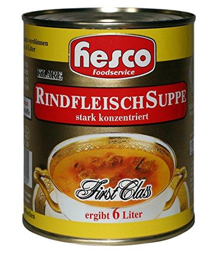 Hesco First Class Rindfleisch Suppe 5er pack (5x212 ml)