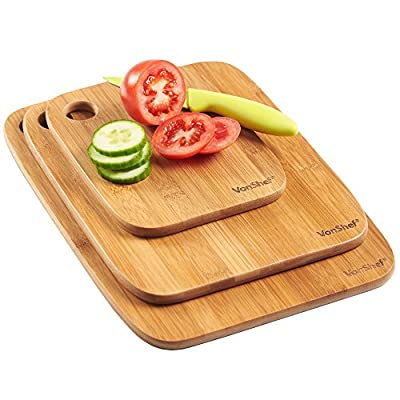 VonShef Chopping Board Set of 3