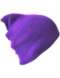 Mauve Bonnet Chapeaux (Beanie Hat Purple)