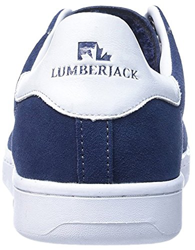 Lumberjack Tilt Low Cut, Chaussures Homme bleu foncé/blanc
