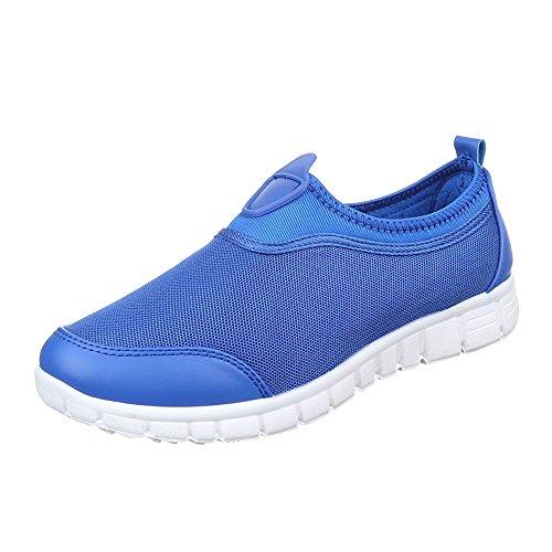 Ital-Design - Pantofole Donna Blu