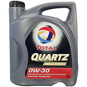 Huile Moteur Total Quartz Ineo First 0W30 – Bidon de 5 L