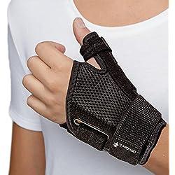 orthocare S-Estabilizador Pulgar. One Size. Apto para ambas manos. Protege los Pulgar en el Diario Actividades y deportes. Ayuda a heilen Pulgar de Lesión