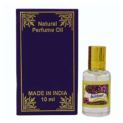 10ml Amber Fragrance Oil 100% Pure and Natural Perfume Oil - Purple by Natural Perfume