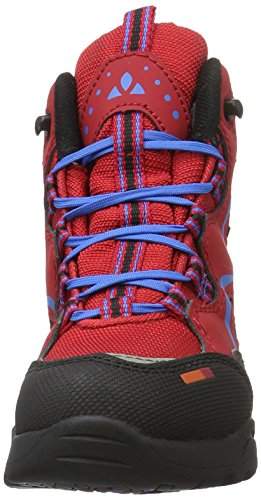 VAUDE Rascal Ceplex Mid, Chaussures Multisport Outdoor Fille Rouge (Indian Red 614)