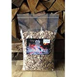 Smokewood Shack Hickory BBQ Smoking Wood Chips - Bigger Bag, Better Value - PLUS FREE DELIVERY