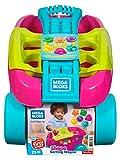 Mega Bloks Mon Wagon Trieur de Formes rose, briques et jeu de construction, 25 pièces, jouet pour bébé et enfant de 1 à 5 ans, FVJ48