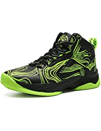 2596fbb17022a6 LANSEYAOJI Basketball Shoes Boys High-Top Sneaker Casual Outdoor Sport Shoes  Unisex Kids Fashion Running Shoes…