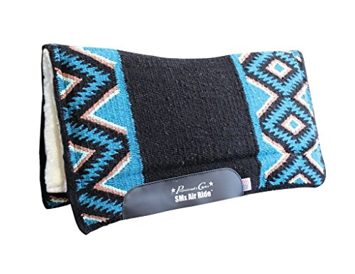 Professionals Choice EL DORADO Air Ride Wolle Pad, Black/Mint -