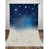 Coloc Photo® 150*220cm Petites étoiles nuit bébé le tissu de l'art fond la photographie mince art Photo de tissu tissu toile de fond pour studios nouveau-nés imprimé D-8899