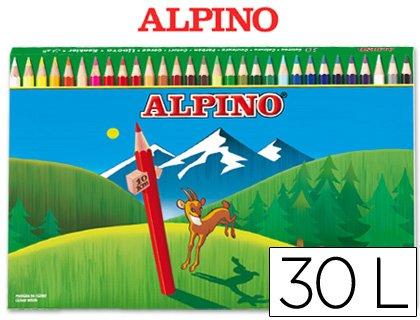 Lapices de colores Alpino 659 Largos