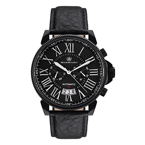 Mathis Montabon MM-04 Classique Moderne IP noire cuir