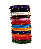 Naksh Multicolor Silk Thread Bangle Set For Women