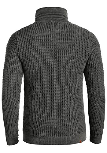 BLEND Wanko - Pull en Maille - Homme Pewter Mix (70817)