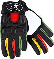 Timeship Kody Noble Slide Gloves [Medium] Black/Rasta