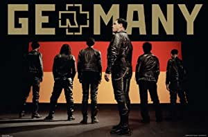 Empire 326577 Rammstein Germany Poster rock allemand 91 x 5,61 cm