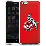 Apple iPhone 6 Hülle Silikon Case Schutz Cover 1. FC Köln Fanartikel Fußball