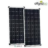 Solaranlage Autark M-Master 200W Solar – 1000W AC Leistung 12V 230V - 4