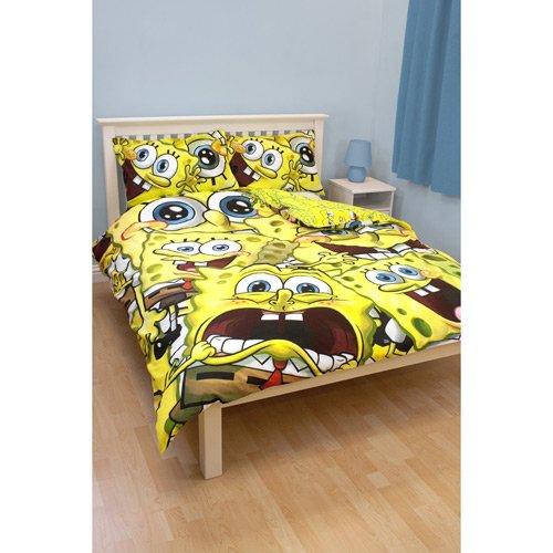 Spongebob Schwammkopf - Bettwäsche Heads (in 200 x 200 & 48 x 74)