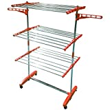 #7: Kawachi Folding Drying Dryer 3-Layer Stand Laundry Rack Garment Drying Double Stand
