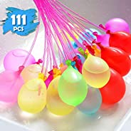 SWIPPLY | 111 Water Balloons Toys for Kids | Self Sealing Balloons in 3 Filling Bunch Pack For Girls & Boy