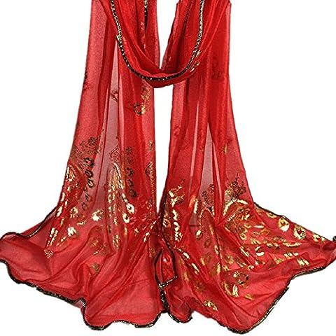 Transer ® Femelle Écharpes, Mode Femmes Long Print Scarf Wrap Ladies Châle Filles Grand Écharpes Printemps Automne Hiver Nouvelle Promotion en Europe