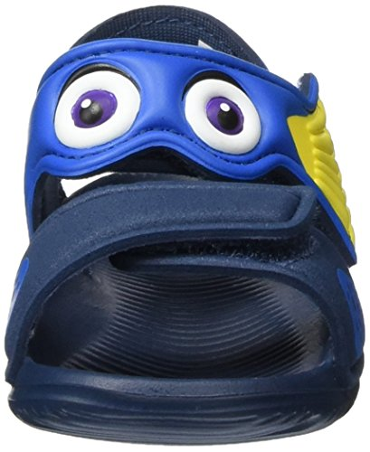 adidas  Disney Akwah 9 I, sandales mixte bébé Multicolore (Mineral Blue/Shock Blue/Bright Yellow)