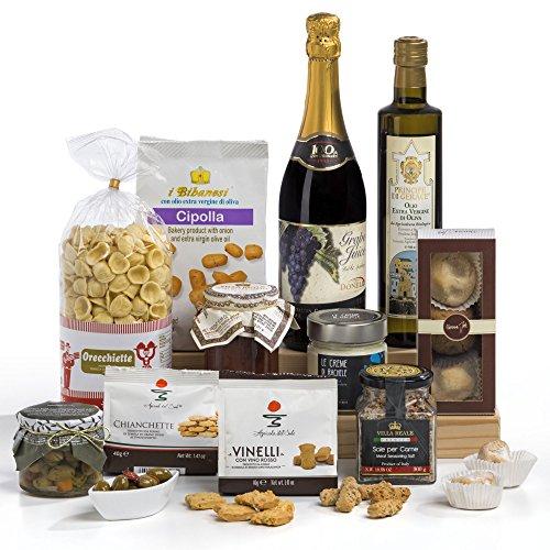 Squisito Luxury Italian & Sicilian Food Hamper Gift Box
